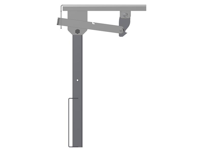 Morryde Tv1080H Friction Pivot Drop Down Tv Wall Mount