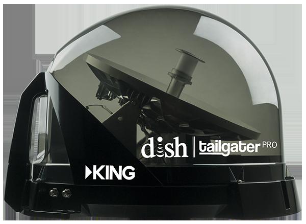 Dish Network For Rv >> King Vq4900 Tailgater Pro Translucent Premium Satellite Antenna For Dish Network