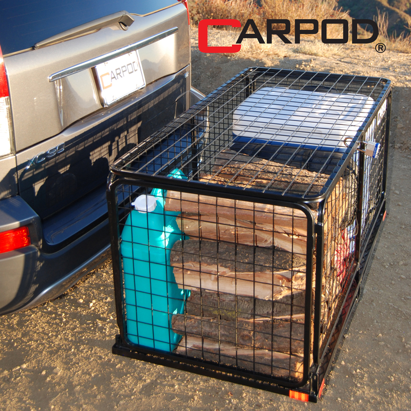 Carpod Cargo Carrier Basket Hitch Basket Cargo Carrier