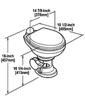Dometic 510 Toilet