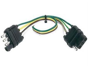 Husky Towing 30170 Trailer Wiring Connector 4 Way Flat-4 Way Flat 18 ...