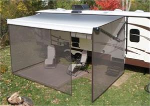 Lippert 362213 Tan Solera Family Room Awning Enclosure