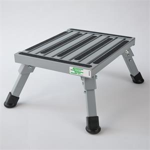 Safety Step Stool One Step With Non Slip Strips Rubber Leg