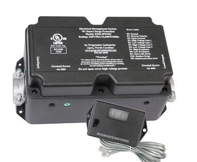 Progressive Industries EMS-HW50C Electrical Management System - Hardwire  50A W Digital Remote Display