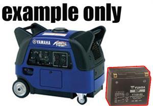 Yamaha 3000 Generator >> Generator Battery Replacement Yamaha 3000 Watt Generator